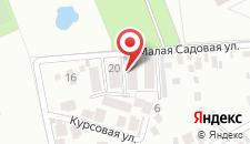 Апартаменты Малая Садовая на карте