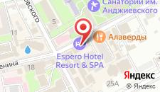 Отель Espero на карте