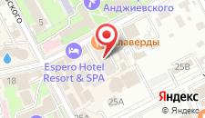 Гостиница КрасОтель на карте