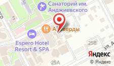 Отель Вилла Желанная на карте