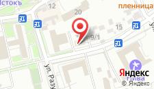 Апартаменты На Пятигорской 7 на карте