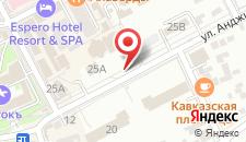Отель Понтос Плаза на карте