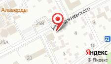Пансионат Курортный на карте