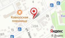 Апартаменты Курортная зона на карте