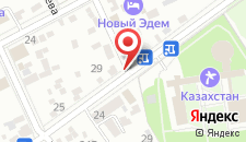 Санаторий Казахстан на карте