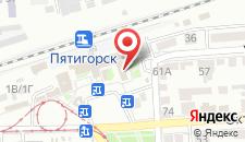 Гостиница Южная на карте