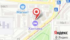 Ресторанно-гостиничный комплекс Хантама на карте