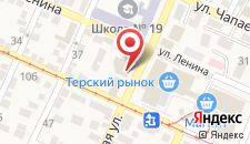 Отель Централь на карте