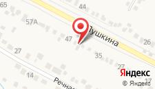 Гостиница Змейка на карте