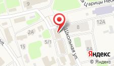 Мини-гостиница Московская на карте