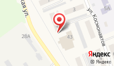 Апартаменты На Октябрьской на карте