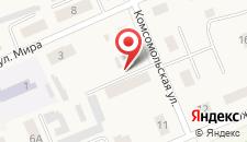 Апартаменты На улице Комсомольской 9 на карте