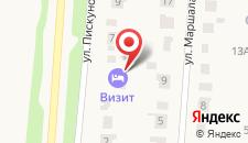 Гостевой дом Визит на карте