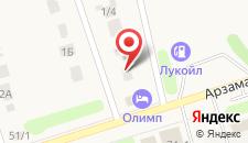 Гостиничный комплекс Олимп на карте