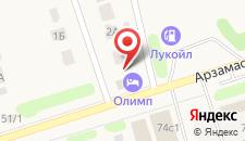 Отель Олимп на карте