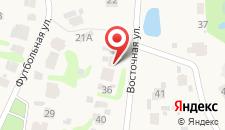 Отель Чайка на карте