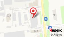 Отель Рублев на карте