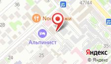 Гостиница Гранд-Кавказ на карте
