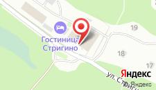 Гостиница Стригино на карте