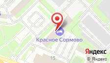 Гостиница Красное Сормово на карте