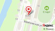 Гостиница Старт на карте