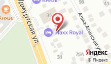 Гостиница Макс Роял на карте