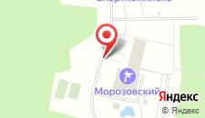 Курортный отель Морозовский на карте