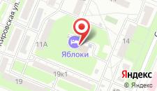 Гостиница Яблоки на карте