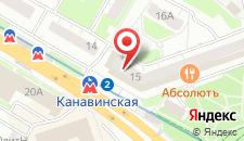 Гостиница НИКОЛЬ на карте