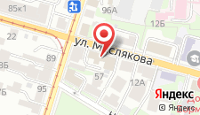 Гостиница Горки на карте