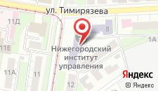 Гостиница Академсервис на карте