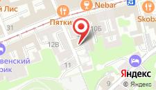 Гостиница Троицкая на карте