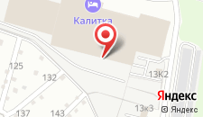 Мотель Калитка на карте
