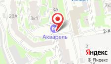 Отель Акварель на карте