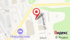 Мини-отель Голока на карте