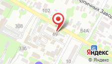 Гостиница Мишель на карте