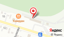 Гостиница Ипподромная на карте