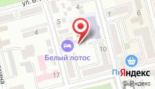 Отель Белый Лотос на карте