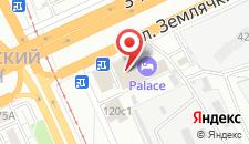 Отель Palace на карте