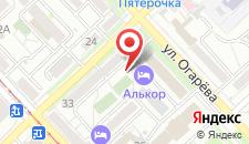 Отель Нефтяник на карте