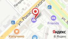 Гостиница Волгоградская на карте
