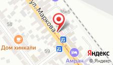Гостиница Кадгарон на карте