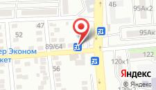 Гостиница Пролесок на карте