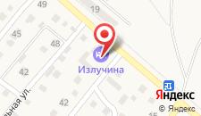 Гостиничный комплекс Излучина на карте