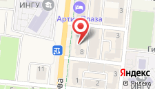 Отель Артис Плаза на карте