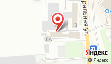 Отель Авиа на карте
