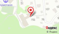 Гостиница Салют на карте