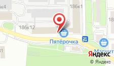 Отель Полина на карте