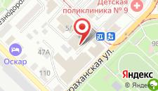 Сити-отель Богемия на карте