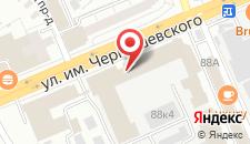 Гостиница Заводская на карте